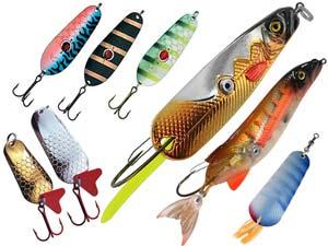 Что нужно знать начинающему рыбаку. Блесны